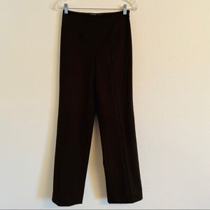Ralph Lauren black label brown straight leg pants